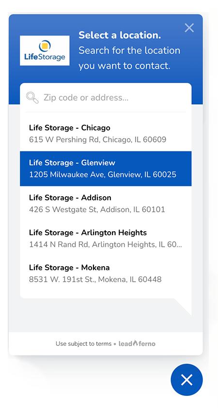 multi location text widget
