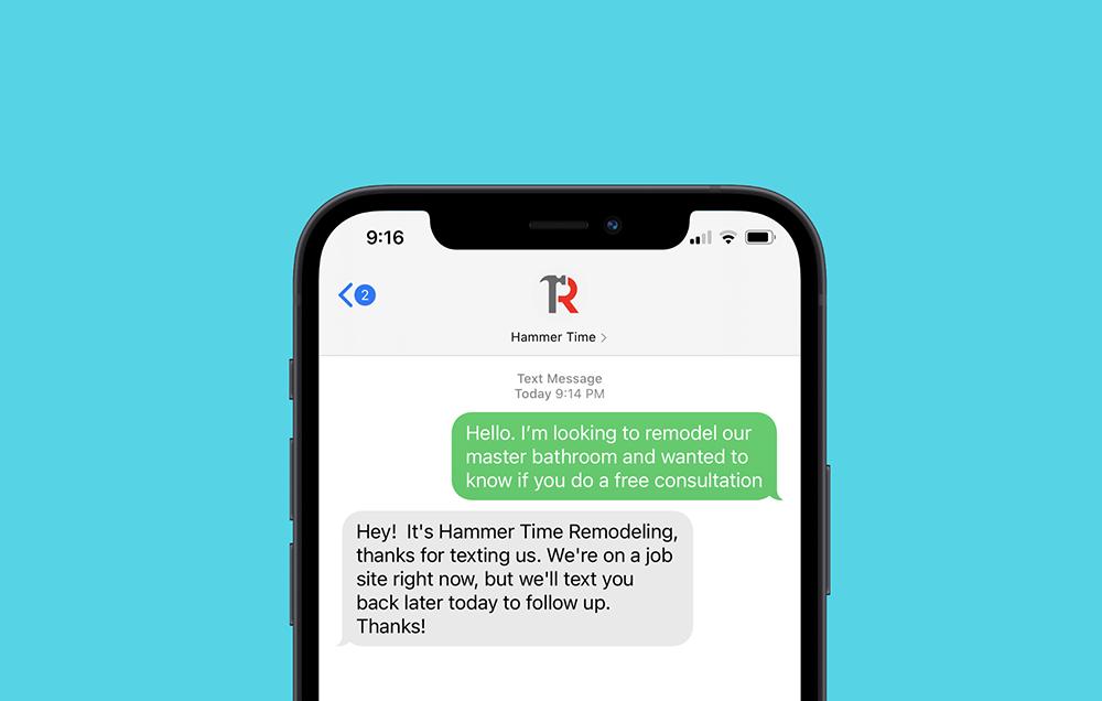 text auto reply